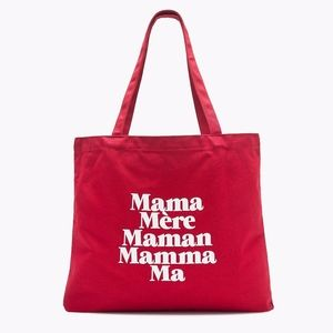 "NWT J.Crew xPrinkshop Tote in ""Mama"""